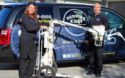 Mobile X-Ray Van and Portable X-Ray Machine